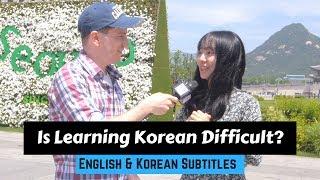 How Hard Is It to Learn Korean? | 한국어가 배우기 어려운 이유