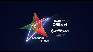 Telemóveis - Conan Osíris, Eurovision 2019 Portugal (lyrics + english traslation)