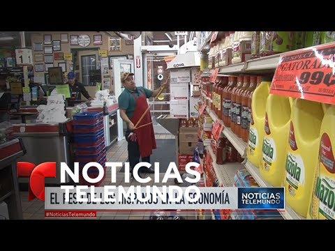 Investigación destaca la importancia económica de latinos en EEUU   Noticiero   Noticias Telemundo
