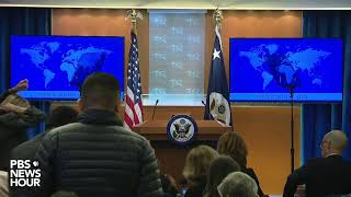 WATCH LIVE: Pompeo gives statement days after U.S. kills top Iranian general