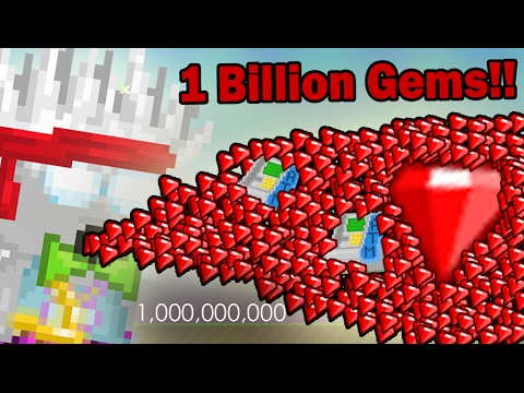 GrowTopia | 1 BILLION  GEMS!! OMG