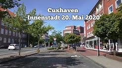 Cuxhaven Stadt Innenstadt  20. Mai 2020