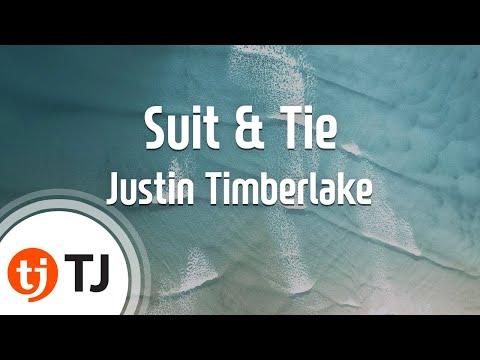 [TJ노래방] Suit & Tie - Justin Timberlake(Feat.Jay-Z)/ TJ Karaoke