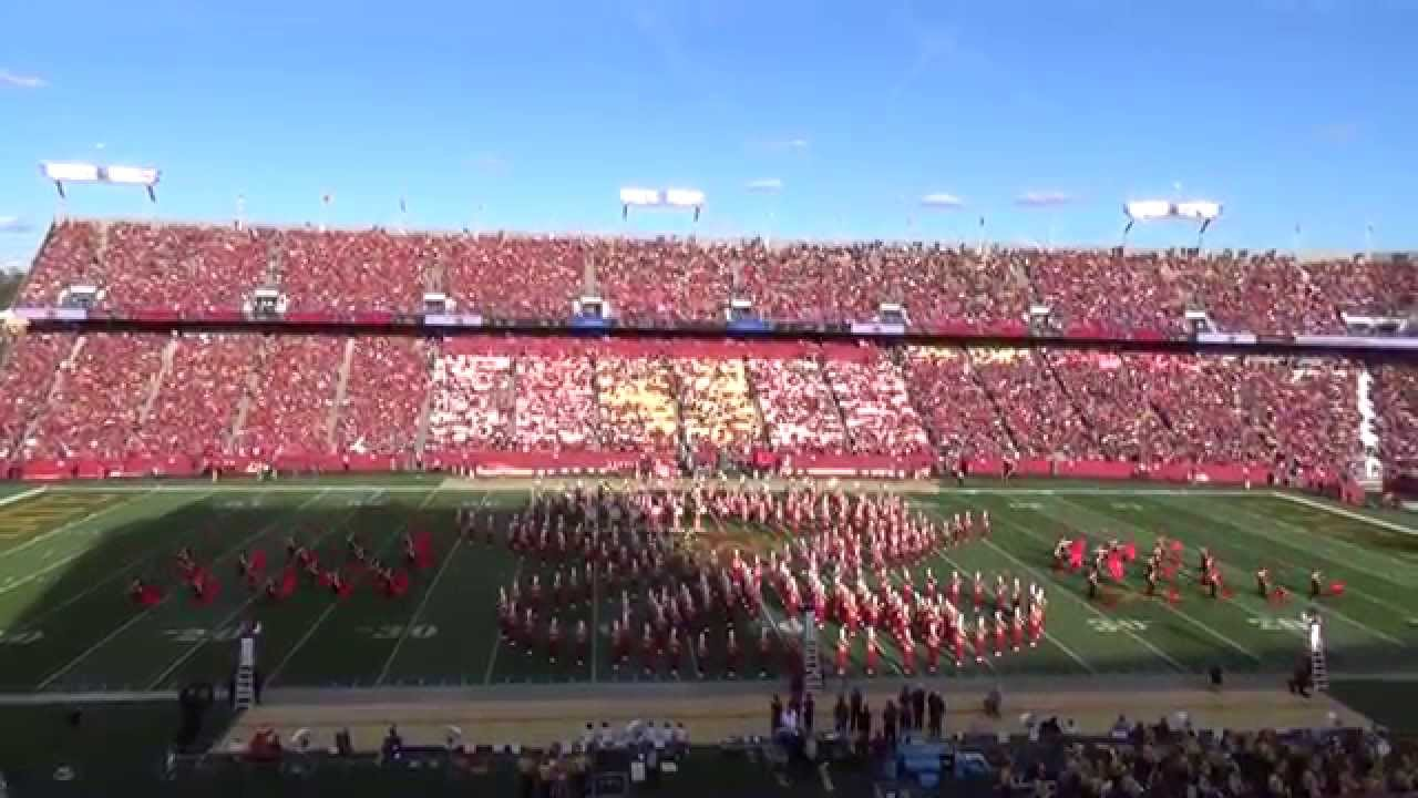 Iowa State University Marching Band - Sept  12, 2015 Halftime Show