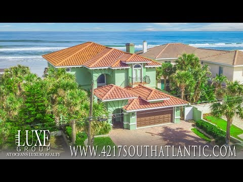 Luxury Oceanfront Homes | Daytona Beach Waterfront Real Esta