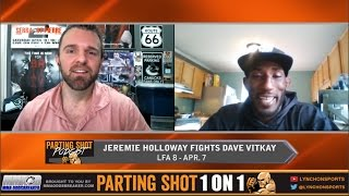 "LFA 8's Jeremie Holloway ""I know the knockout's out there, I just have to be patient"""