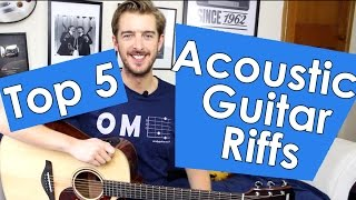 5 Acoustic Guitar Songs With ONLY 4 CHORDS!