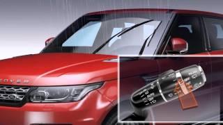 Range Rover Sport Windshield Wiper Control & Rain Sensors | Land Rover USA