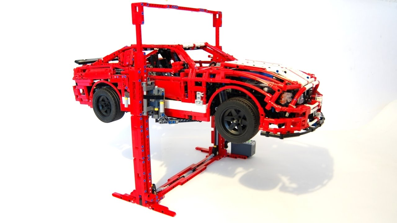 garage stop ideas - LEGO Car Lift can lift more than 3KGS by Sheepo