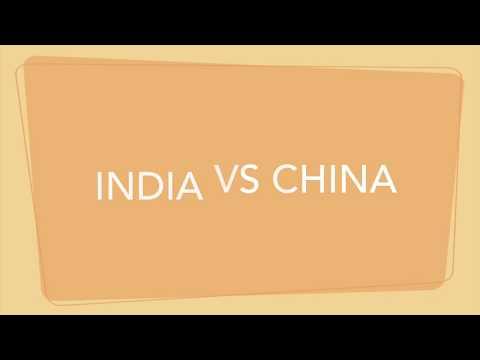 China vs India - Objective Comparison (Infrastructure).