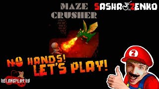 Maze Crusher Gameplay (Chin & Mouse Only)