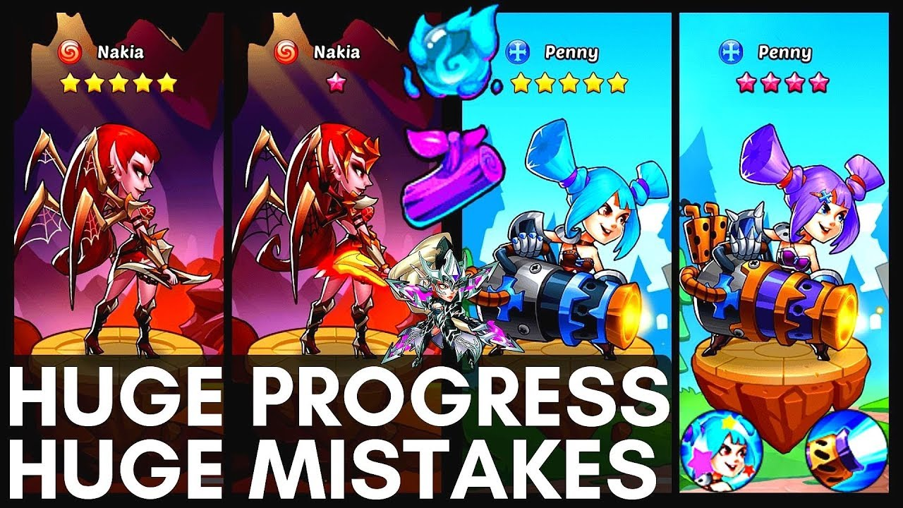 TEAM Finally UPGRADED [Penny Nakia +] Prophet Orb & Heroic Miracle Events!  | Idle Heroes [ep  10]