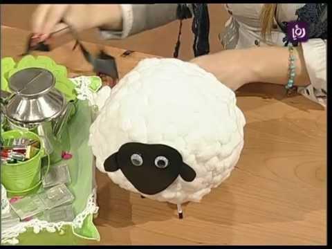 خبيرة الأشغال اليدوية فاي سابا تزين خروف العيد | Roya