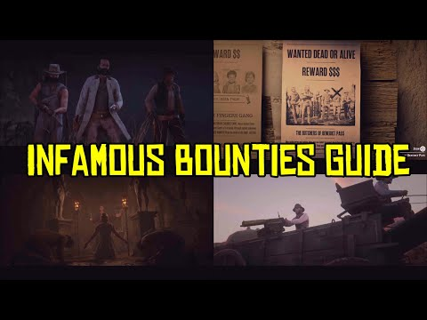Red Dead Online How Do The New Infamous Bounties Work And How Much Do They Pay?