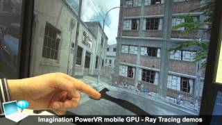 Imagination PowerVR 6XT GR6500 mobile GPU - Ray Tracing demos  vs Nvidia Geforce GTX 980 Ti