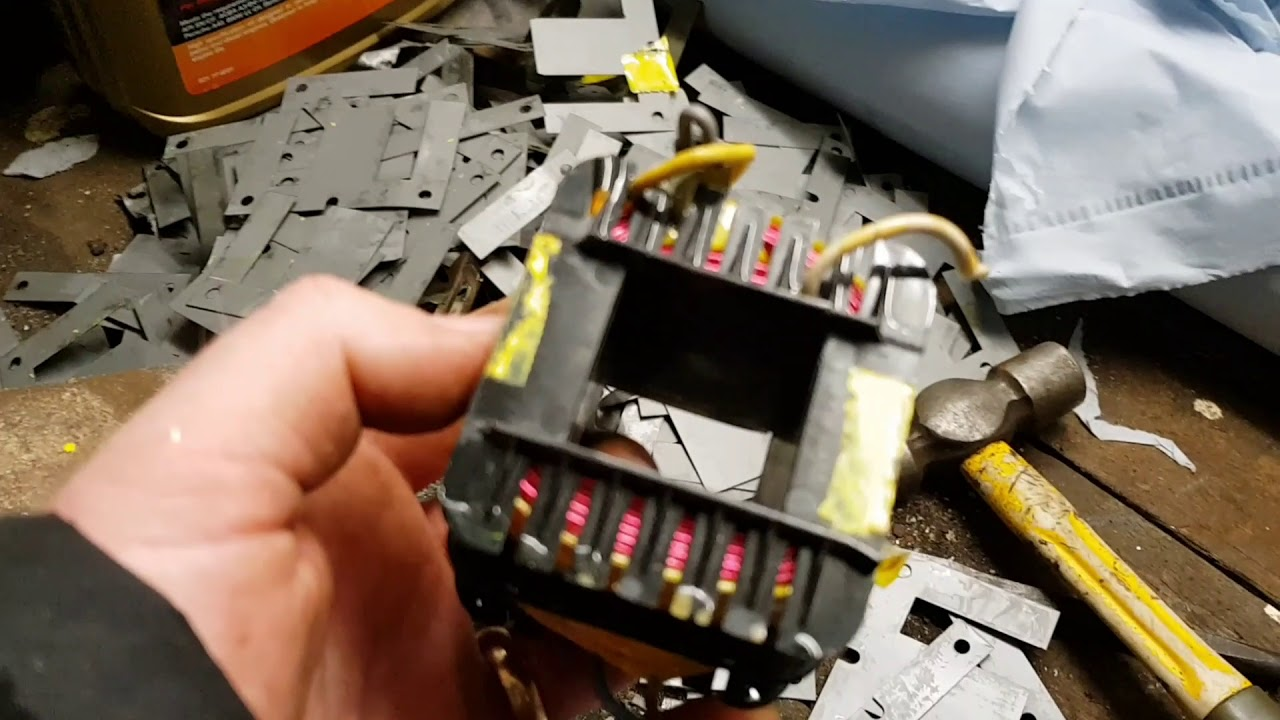 hight resolution of how to strip transformers for wire