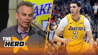 Colin Cowherd on reports the Lakers are frustrated Lonzo Ball won't stand up to LaVar | THE HERD