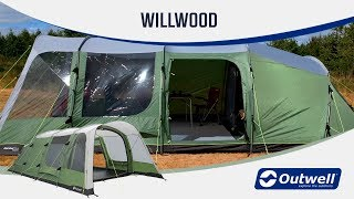 Outwell Willwood tents 5 and 6 person (2019) - Innovative Family Camping