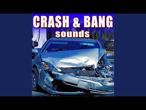 Multiple Car Pileup with Metal & Glass Debris