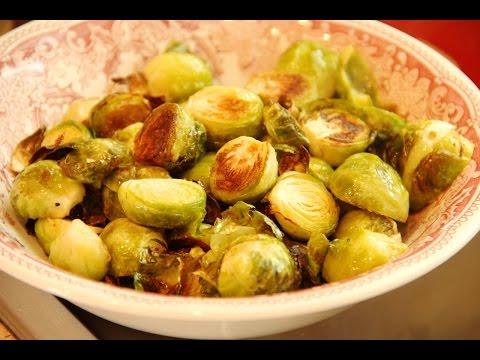 Запекаем брюссельскую капусту. Вегетарианская и постная кухня