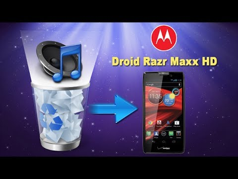 How to Recover Deleted or Lost Music from MOTOROLA Droid Razr Maxx HD?