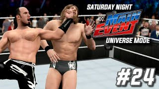 wwe 2k15 universe mode snme episode 24 friends or foe snme