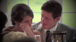 Dad Surprises At Daughter's Wedding!