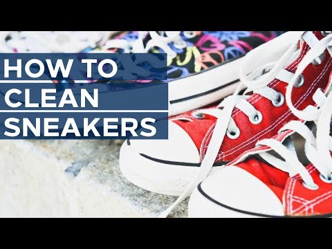 How To Wash Sneakers at Home