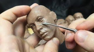 как сделать голову человека из пластилина