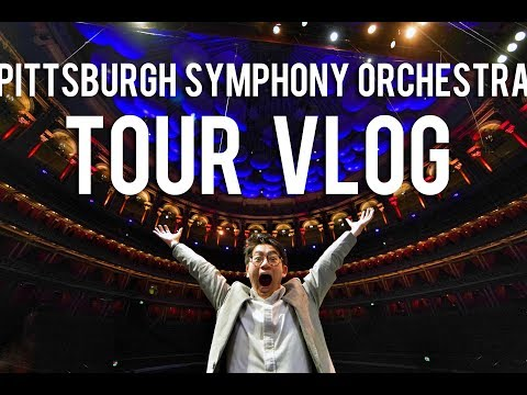 Pittsburgh Symphony Orchestra TOUR VLOG | We played at BBC PROMS!
