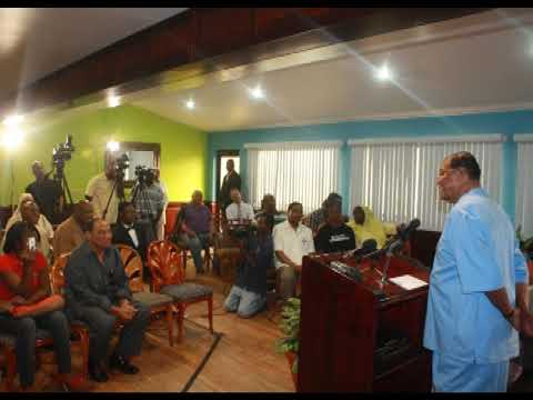 """Question and Answer Session with the Media in Belize""   March 8, 2013"