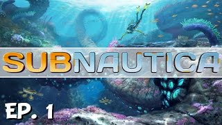 subnautica ep 1 gameplay introduction let s play