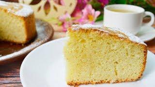 Нереально вкусный  ГЕНУЭЗСКИЙ БИСКВИТ - для тортов, к чаю