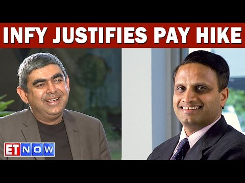Infosys CEO Vishal Sikka Defends COO Pravin Rao's Pay