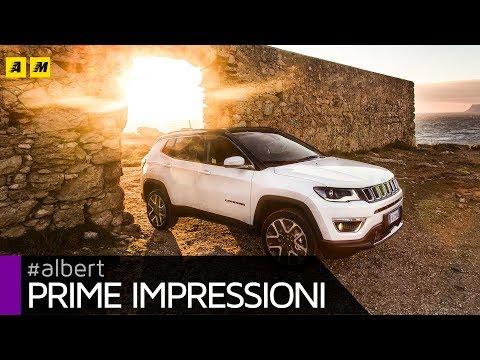 Nuova Jeep Compass 2017, SUV compatta tra Renegade e Cherokee | Primo test [ENGLISH SUB]