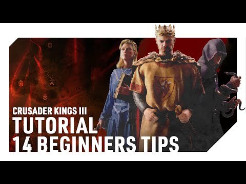 14 Tips for New Players | CRUSADER KINGS 3 | Tutorial/Guide for Beginners (CK3)
