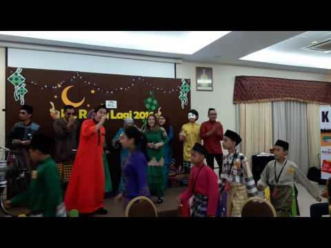 Adam af2 feat baby Shima - Seloka Hari Raya #klrayalagi [22/06/2016]