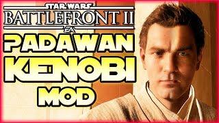 Padawan Obi-Wan Skin - Star Wars Battlefront 2 - Mod / Mods deutsch Tombie