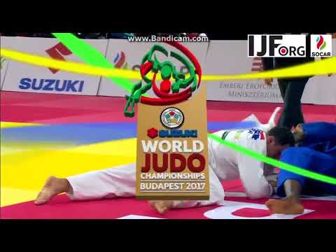 World Championship 2017,Gold Medal fight +100kg, RINNER (FRA)-MOURA (BRA)