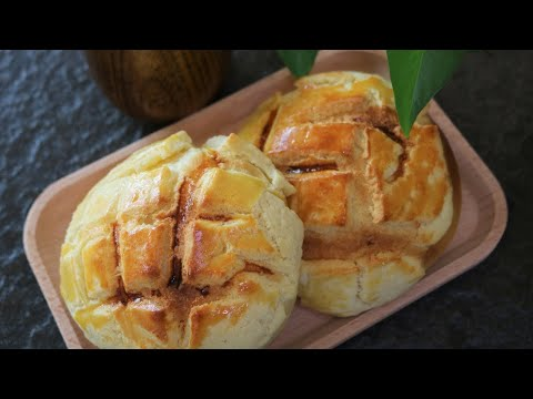 Homemade HK Style Pineapple Bun [菠萝包] from YouTube · Duration:  9 minutes 23 seconds