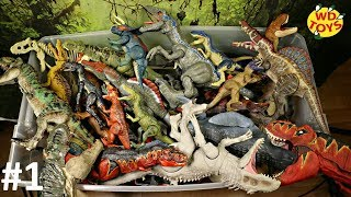 HUGE BOX DINOSAUR TOYS! Jurassic World 50 Gallon Surprise Box  Fallen Kingdom Mattel T-Rex WD TOYS