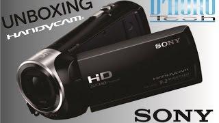 Unboxing y Revisado Camara de Video Sony HDR-CX240