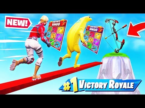 BOOM BOW BINGO *NEW* Game Mode in Fortnite Battle Royale