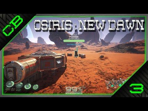 Osiris: New Dawn Gameplay - Building a Habitat & Chem Table! - Ep3