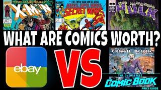 WHAT ARE COMICS WORTH ? EBAY VS OVERSTREET MONEY TALKS episode #1