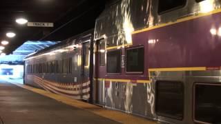 [HD] Roaring MBTA diesels at Back Bay