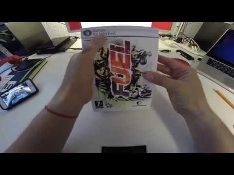Обзор Fuel распаковка подарочного издания игры