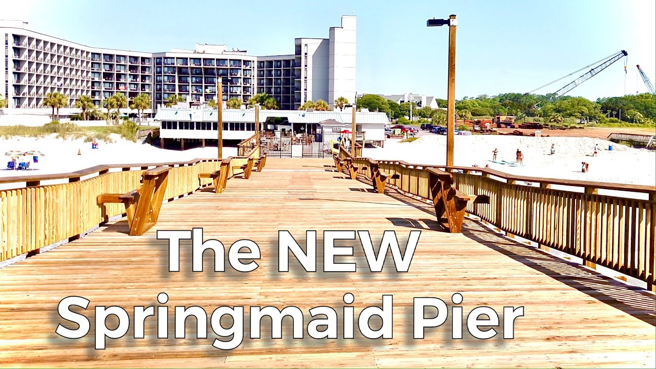 Walking on the NEW Springmaid Pier | Myrtle Beach, SC