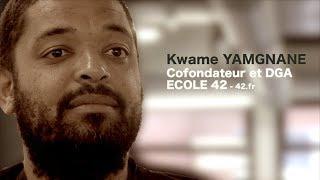 Kwame Yamgnane, cofondateur et DGA de l'Ecole 42