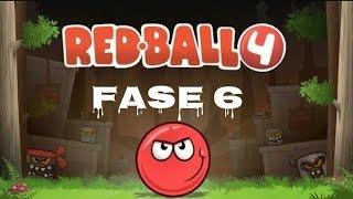 Red Ball 4 - Fase 6 walkthrough